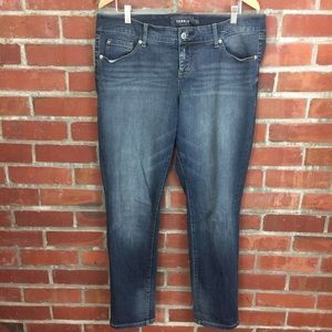 Torrid Size 14 Plus Boyfriend Fit Blue Jeans 14R